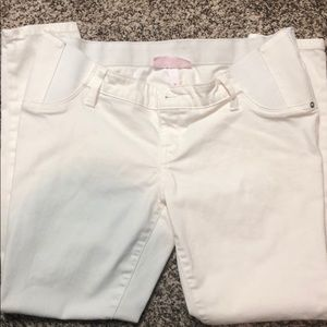 Isabel White Maternity Jeans